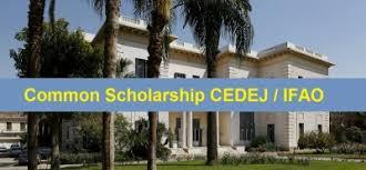 Common Scholarship CEDEJ / IFAO