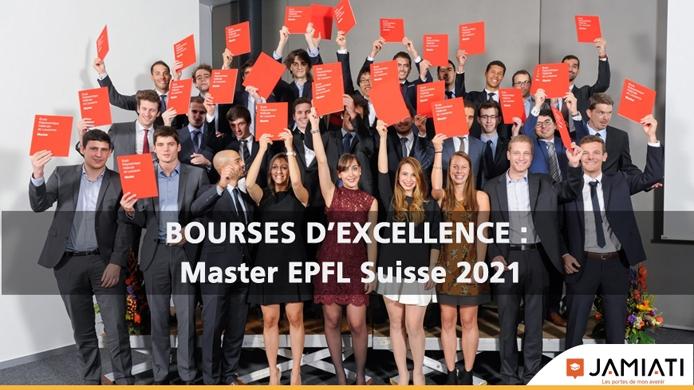 Bourses d'excellence de l'École Polytechnique Fédérale de Lausanne - EPFL, Suisse, 2021